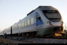 مسافران نوروزی با قطار از گرگان به اینچه برون می روند