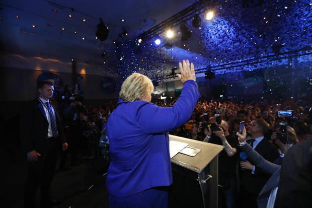 پیروزی پوپولیست ها در انتخابات نروژ+ عکس