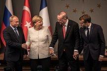 ضیافت شام اردوغان برای سران نشست چهارجانبه+ تصاویر