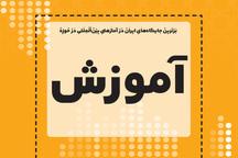برترین جایگاه های ایران در آمارهای بین المللی در حوزه آموزش