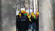 راهپیمایی طرفداران اوجالان علیه اردوغان در وین پایتخت اتریش