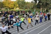 توسعه ورزشهای همگانی ارتقای سلامت شهروندان را به دنبال دارد