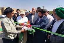 پروژه آسفالت خیابان 48 متری سوسنگرد به بهره برداری رسید