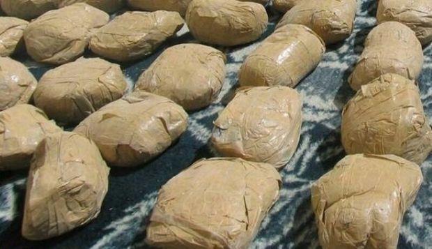 ماموران انتظامی خراسان شمالی ۲۳۲ کیلوگرم مواد مخدر کشف کردند