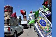 سپاه بیجار ۶۶ سری جهیزیه به نو عروسان اهدا کرد