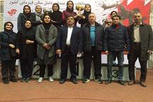 بانوان گلستان در دوومیدانی داخل سالن کشور سوم شدند