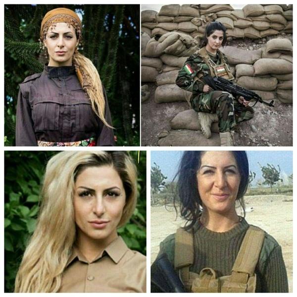داعش برای سر این دختر، یک میلیوندلار تعیین کرد(عکسها)