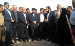 آئین افتتاح خط لوله آب ۱۰۰۰ آبادان