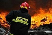 آتش سوزی مهیب ۸ باب مغازه در رشت بدون تلفات جانی مهار شد