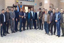 دهیاران  البرز از روستای گردشگری سریزد مهریز بازدید کردند