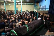 آخرین وداع با پیکر آیت الله هاشمی، دوشنبه صبح حسینیه جماران