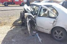 واژگونی سمند در فیروزکوه یک کشته و 3 مصدوم بر جا گذاشت