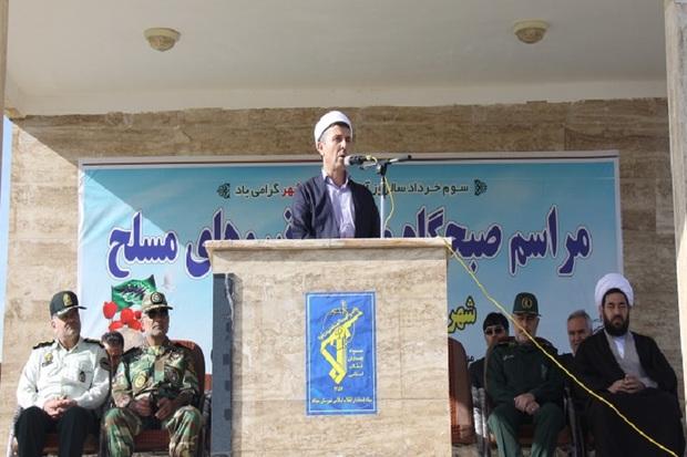 نیروهای مسلح مایه عزت و سرافرازی ملت ایران هستند