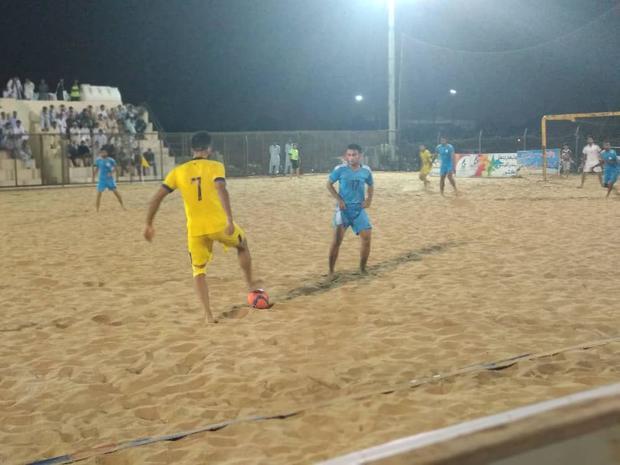 تیم فوتبال ساحلی منطقه آزاد چابهار شهرداری سمنان را شکست داد