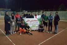 رقابتهای تنیس در گچساران پایان یافت