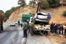 کشته شدن 183 نفر در تصادفات کهگیلویه و بویراحمد  فوت سه برابری مردان نسبت به زنان در استان
