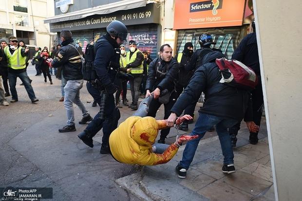 نهمین تظاهرات جلیقه زردها