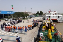 طرح نوروزی گردشگری آبی در بندر خرمشهر آغاز شد