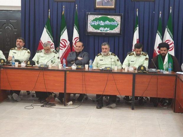 ۲۰ استان معین به زائران در مرز مهران خدمات رسانی می کنند