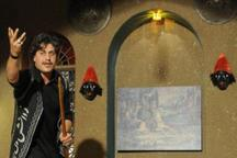 اجرای نقالی و پرده خوانی رضوی در قزوین