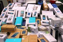 ۱۵۰ دستگاه انواع تلفن همراه قاچاق در بانه کشف شد