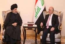 توافق مقتدی صدر و حیدر العبادی بر سر ائتلاف برای تشکیل دولت