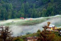 ادامه بارش پراکنده در مازندران