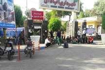 تجمع صنفی کارگران شهرداری منطقه 2 آبادان مقابل ساختمان شهرداری مرکزی