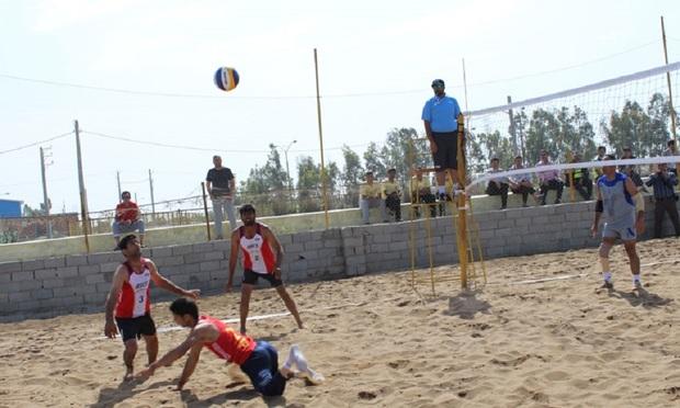 شهرداری کردکوی قهرمان والیبال ساحلی جانبازان و معلولان کشور شد