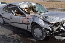 تصادف رانندگی در زنجان یک کشته برجا گذاشت