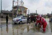 25 مسافر گرفتار در سیلاب جغتای امدادرسانی شدند