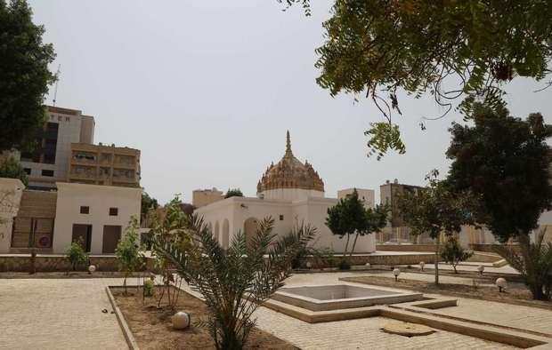 مرمت معبد هندوهای بندرعباس ادامه می یابد