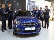 اولین خودرو ایرانی تولیدی روی پلتفرم SP100 معرفی شد