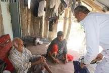 اجرای طرح مردم یاری نیروی زمینی ارتش در روستای محروم نانگ و باغو بندرعباس