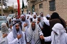آیین سنتی عزاداری هیات بنی اسد در مهریز برگزار شد