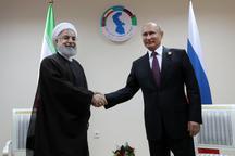 رایزنی روحانی و پوتین درباره مهمترین مسائل دوجانبه، منطقهای و بینالمللی در حاشیه اجلاس سران کشورهای ساحلی دریای خزر