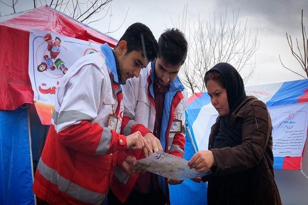 9هزار نفر به پست های هلال احمر آذربایجان غربی مراجعه کردند