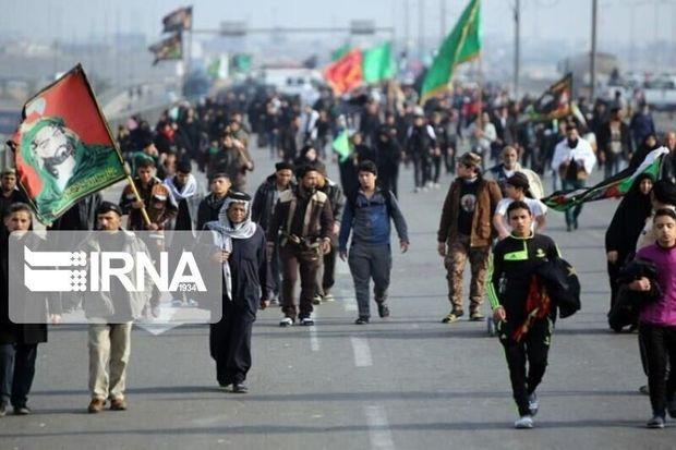 یک میلیون و ۲۰۱ هزار تبعه خارجی از مرز مهران تردد کردند