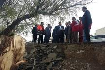 دلجویی رییس سازمان مدیریت بحران کشور از خانواده تنها مفقودی سیل آذربایجان غربی