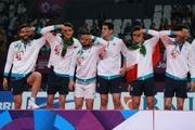 والیبال دومین طلای پیاپی را دشت کرد و ایران در آخرین ساعت بازی ها بیست شد! +فیلم