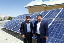 راه اندازی پنل خورشیدی تولید برق در آب و فاضلاب روستایی استان کهگیلویه و بویراحمد