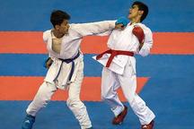 مسابقات المپیاد استعدادهای برتر کاراته کشور در اراک آغاز شد