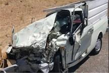 حادثه رانندگی در جهرم 2 کشته و 9 مصدوم داشت