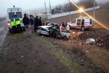 حوادث رانندگی در مشگین شهر یک کشته و سه مصدوم برجای گذاشت
