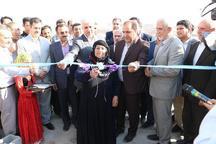 نخستین واحد مسکونی تکمیل شده در مناطق سیلزده ایلام افتتاح شد