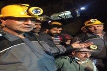 حضور ربیعی در عمق تونل امدادرسانی معدن یورت