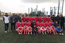 شهرداری همدان جواز حضور در لیگ فوتبال کشور را کسب کرد