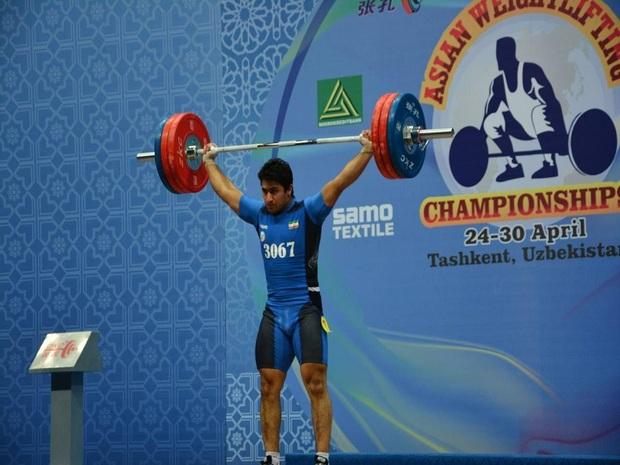 وزنه بردار لرستانی در مسابقات قهرمانی جهان مدال طلا کسب کرد