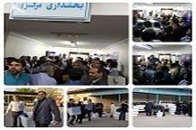 لحظات آغازین برگزاری دوازدهمین دوره انتخابات ریاست جمهوری و پنجمین دوره انتخابات شوراهای اسلامی شهر