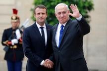 ماکرون پس از دیدار با نتانیاهو: تصمیم هستهای ایران در صورت اجرا نگران کننده است
